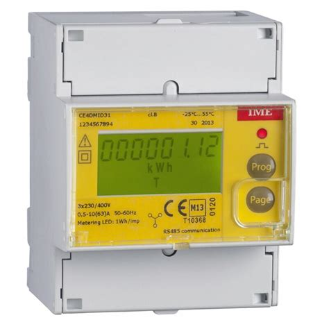 Multi Function Meter ime conto d4 pd mid approved three phase network multi function meter direct connected