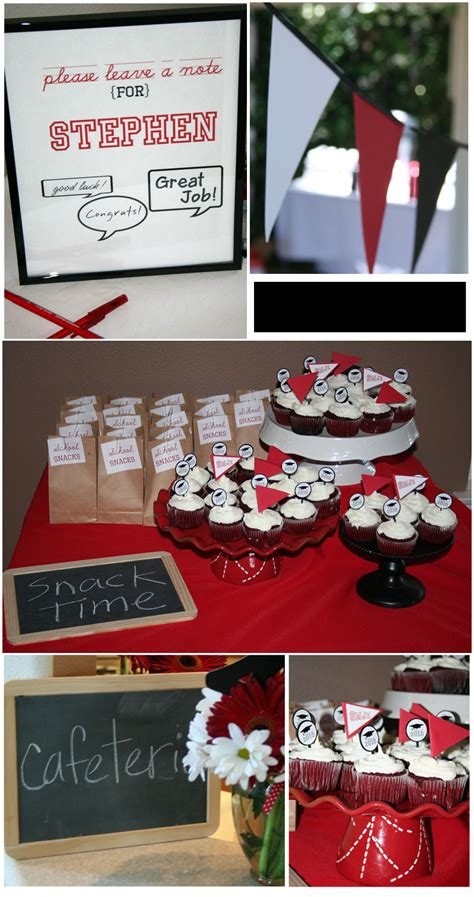 Mba Graduation Ideas by Nostalgic Theme For A Graduation Thoughtfully Simple