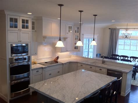 How Much Is Carrara Marble Countertops by The Granite Gurus Carrara Marble Kitchen From Mgs By Design