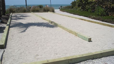 bocce ball court surfaces materials bing images