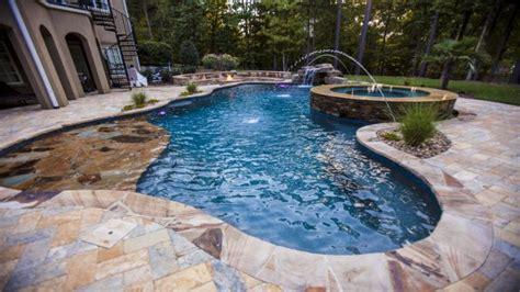raleigh greensboro custom pools spa