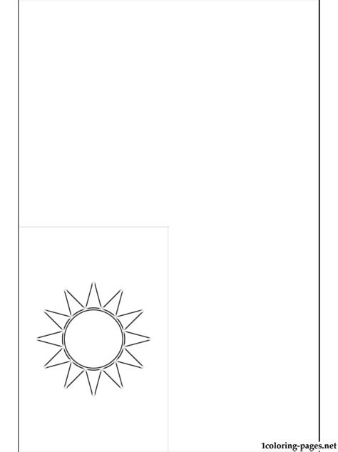 Republic Of China Flag Coloring Page Coloring Pages China Flag Coloring Page