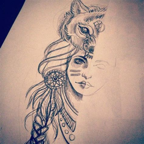 wolf tattoos tumblr the 43 best sketches images on