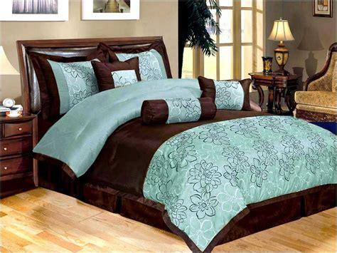 aqua blue bedding aqua blue and brown comforter sets home design remodeling ideas
