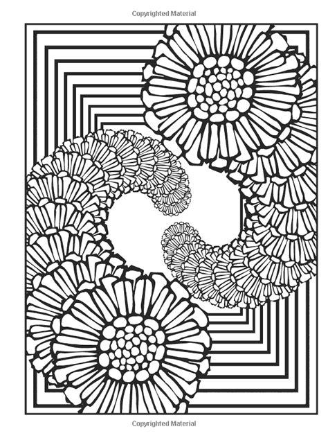 fractal coloring book dover publications creative nature fractals