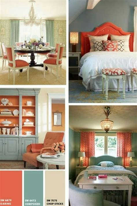 Bedroom Color Schemes Coral 1000 Ideas About Coral Color Schemes On
