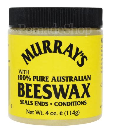 murray's with 100% australian beeswax   pomadeshop