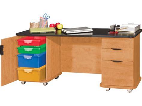 Teachers Desk by Empowered Innovative Teachers Desk With Power 60 Quot X26 Quot Desks