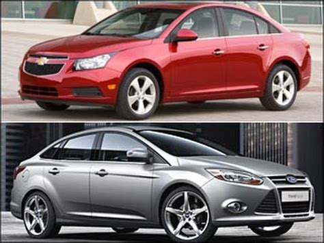 Ford Cruze by New Chevrolet Cruze Vs Ford Focus At Mirak Chevrolet