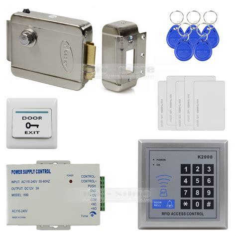 Remote Rf Power Supply Lock Door Access Rfid Electric Kunci Ru diysecur 125khz rfid access system kit set electronic door lock power supply exit