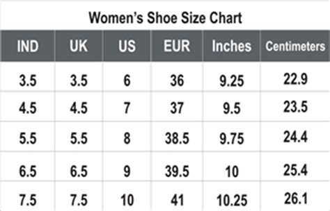 shoe size chart for india uk shoes size conversion to india