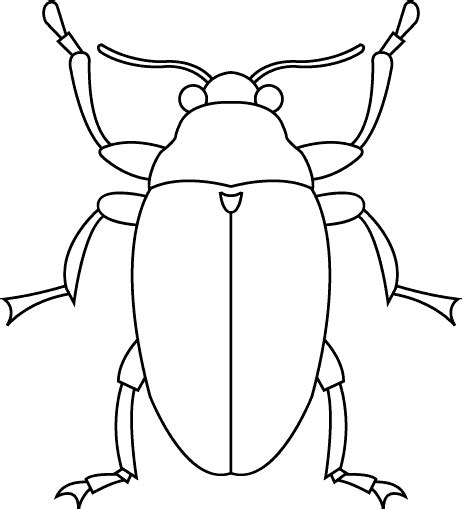 Bug Template Printable bug template printable clipart best