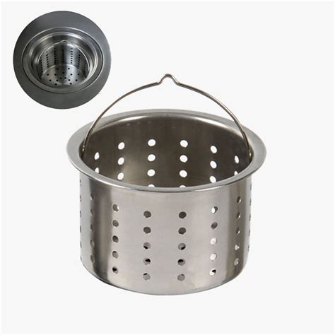 Kitchen Sink Drain Strainer Basket Stainless Steel Kitchen Sink Basket Strainer Promotion Shop For Promotional Stainless Steel
