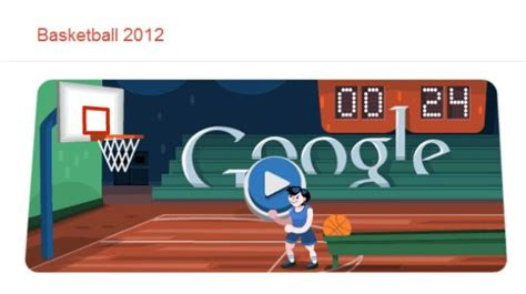 highest score in doodle basketball doodle olympia 2012 basketball spielen
