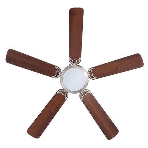 hugger 52 in brushed nickel ceiling fan hton bay hugger 52 in brushed nickel ceiling fan