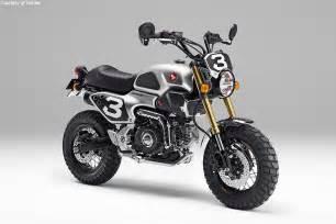 Small Honda Motorcycle Honda Reveals Grom Scrambler Concepts Motorcycle Usa