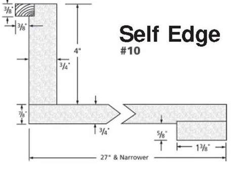 Self Edge Laminate Countertop by Laminate Le Smith