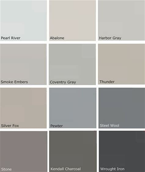 grey paint colors kendall charcoal for the home