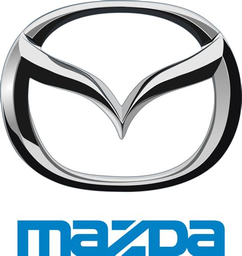 file mazda logo with emblem svg