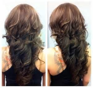 curly blunt cut hair cuts back view capelli ricci tagli capelli ricci tendenze 2014