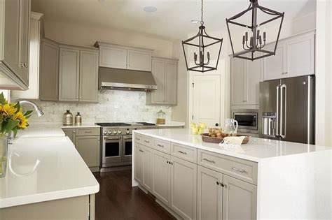 gray shaker kitchen cabinets with engineered white quartz gray shaker kitchen cabinets with engineered white quartz