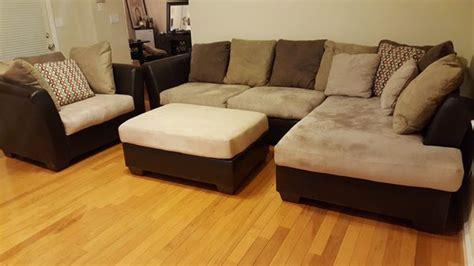 ashley furniture microfiber couch ashley furniture microfiber couch set sectional w chaise
