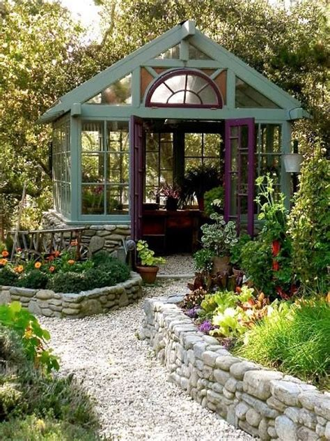 Beautiful Sheds For The Garden by Beautiful Greenhouse Bebe Well Landscaped Area