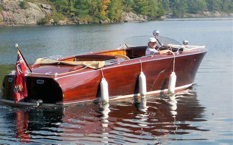 shepherd boats niagara on the lake 1948 shepherd 22 runabout onatrailer