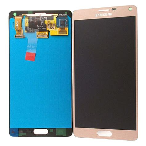 Lcd Galaxy Note 4 samsung galaxy note 4 lcd display gold
