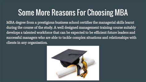 Why You Choose Mba In Finance by Why To Choose Mba