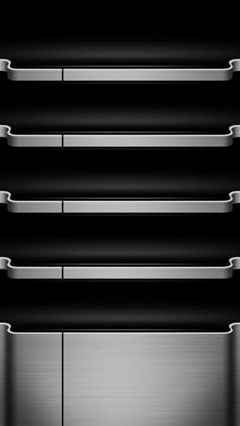 Shelf Wallpaper Iphone 5 by Wallpaper Iphone Wallpaper Steel Shelves 02 2 10720