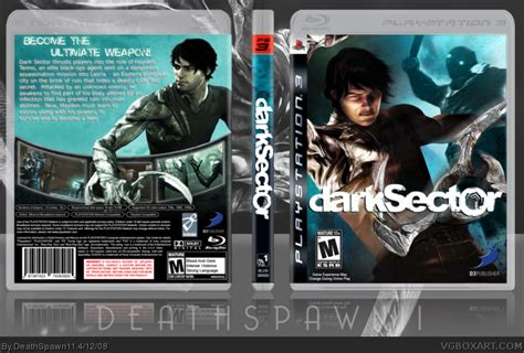 Bd Ps3 Sector Darksector sector playstation 3 box cover by deathspawn11