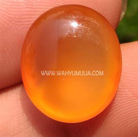 Batu Akik Keladen Putih Kode 43 batu orange carnelian king picis tomato keladen pacitan