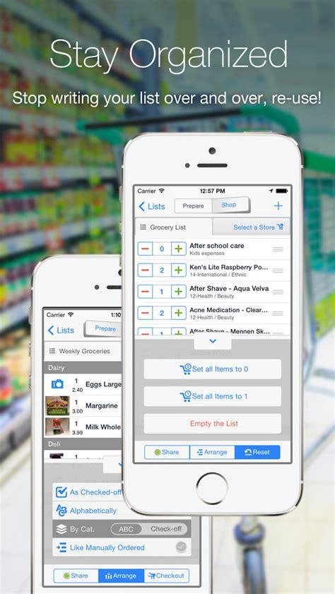 speisekammer app grocery gadget einkaufsliste crate w 228 hrungsrechner