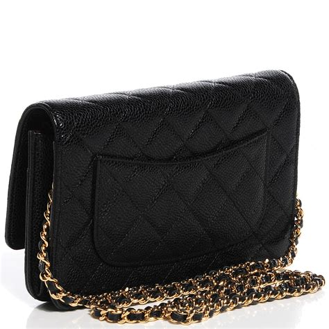 Chanel Woc Quilted Caviar chanel caviar quilted wallet on chain woc black 90518