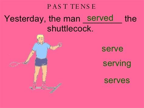 past tense for swing answers sporting past present future tense