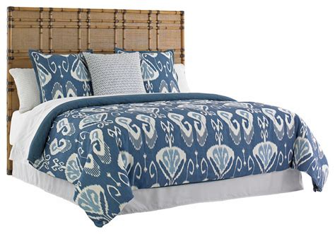 tommy bahama headboard tommy bahama twin palms coco bay panel headboard