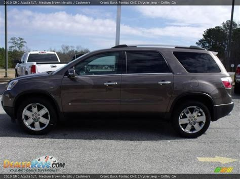 Brown S Toyota Service 2010 Gmc Acadia Slt Medium Brown Metallic Photo