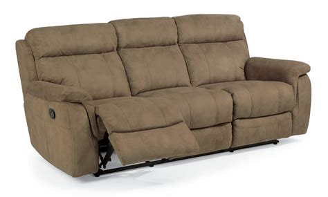 flexsteel couches flexsteel living room fabric reclining sofa 1425 62 a
