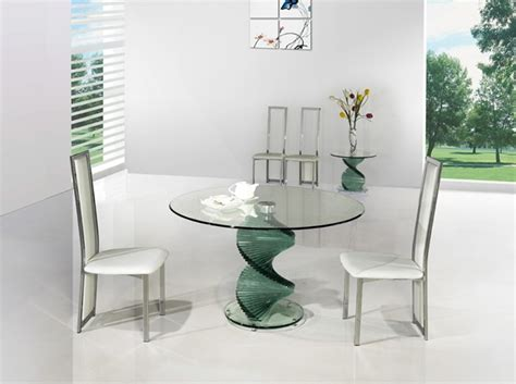 Swirl Glass Dining Table Twirl Glass Dining Table Portofino Glass Dining Table Glass Table