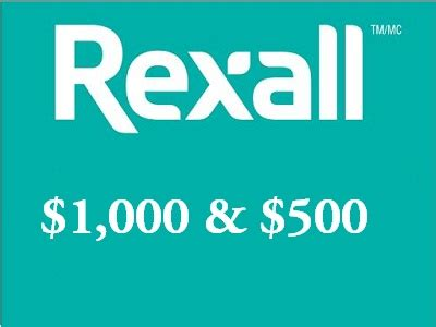 Sweepstakes Odds - www tellrexall ca 10 chances to win empathica 1 000 and more in rexall survey