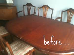 How To Paint A Dining Table The Busy Parents Guide To Painting Furniture Crafts On Sea