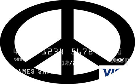 Bancorp Bank Visa Gift Card Balance - peace sign design card com prepaid visa 174 card card com