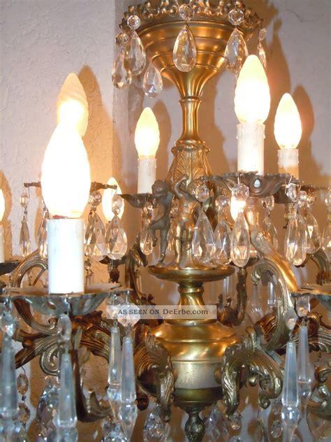 Riesen Kronleuchter by Riesen Antik Jugensstil Putte L 252 Ster Engel Kronleuchter