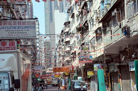 hong kong new year crowded free photo city crowded eng road hong kong free