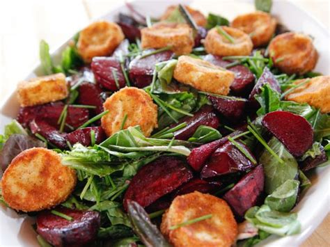 goat cheese salad roasted beet and goat cheese salad recipe ree drummond