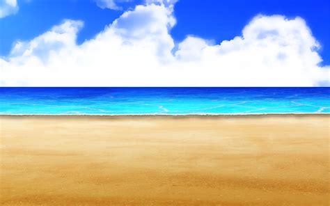 anime on beach background anime styled beach type 08 by akiranyo on