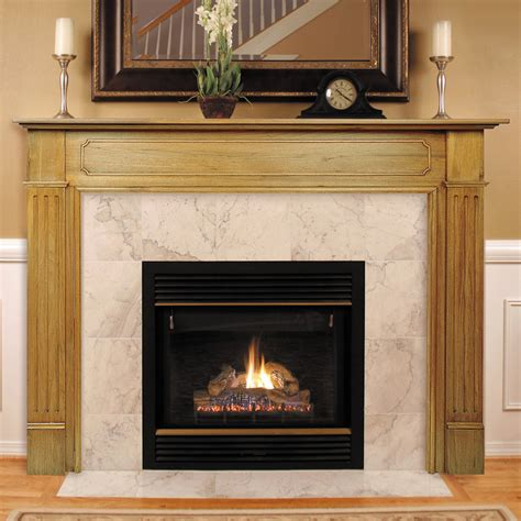 Fireplace Surroundings by Pearl Mantels Williamsburg Wood Fireplace Mantel Surround