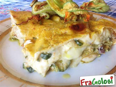 ricette di pasta con fiori di zucca lasagne con fiori di zucca ricetta di fragolosi it