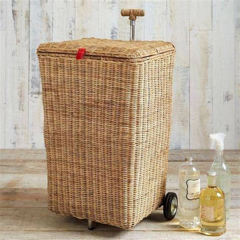 Wicker Hers For Laundry Wicker Laundry Her On Wheels Laundry